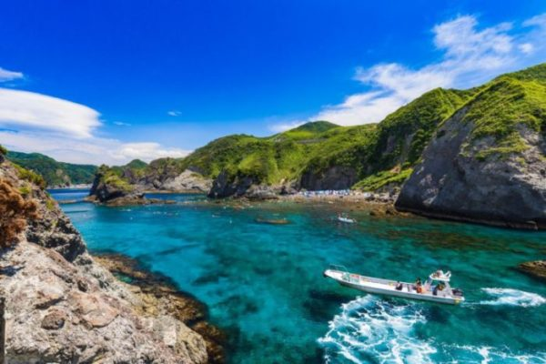 神秘的な沖縄・青の洞窟 シュノーケリングツアーに参加