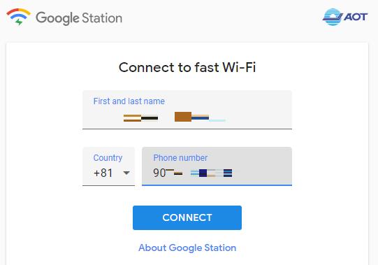 タイ主要6空港で使えるGoogleの無料Wi-Fiを使ってみた