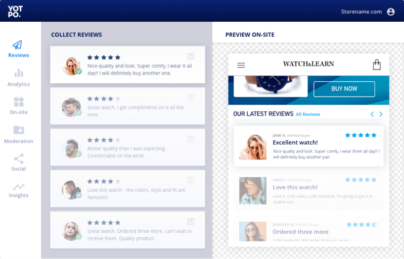 Yotpo review - business to business