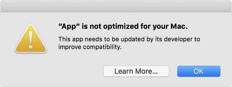 Как проверить наличие 32-битных приложений на вашем Mac