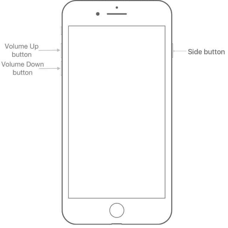 Как сделать Hard Reset iPhone 8 или iPhone 8 Plus