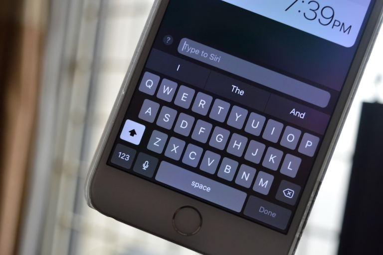 Как печатать в Siri на iPhone и iPad в iOS 11
