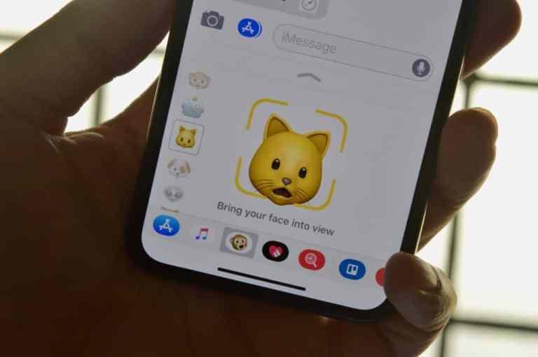 Как отправить Animoji на iPhone X
