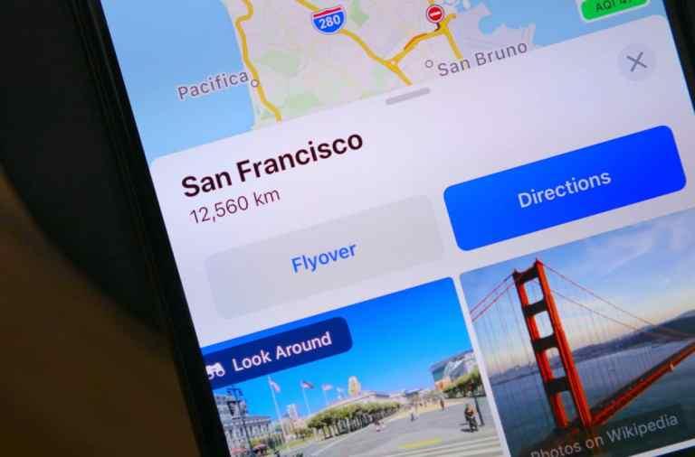 Как использовать функцию просмотра улиц Apple «Осмотреться» на iPhone