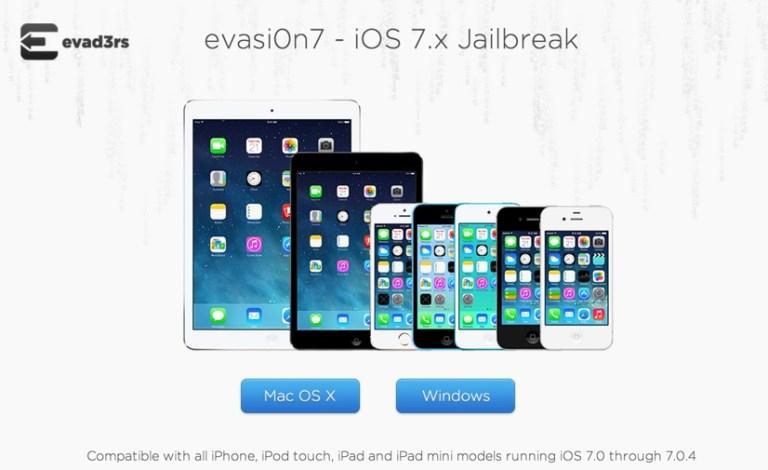 Джейлбрейк iPad на iOS 7