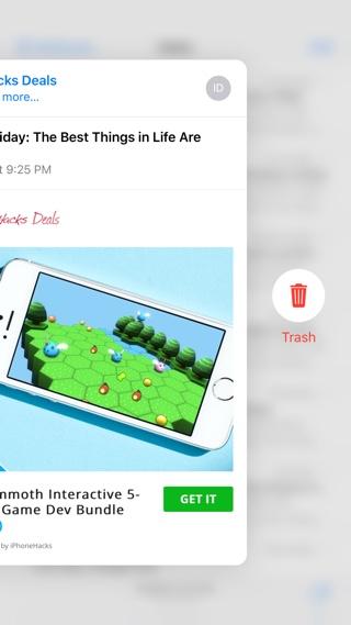 Как выглядывать и выталкивать с помощью 3D Touch на iPhone 6s