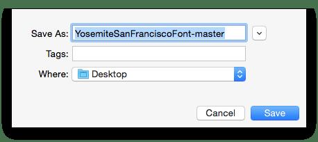Как установить шрифт San Francisco на свой Mac прямо сейчас