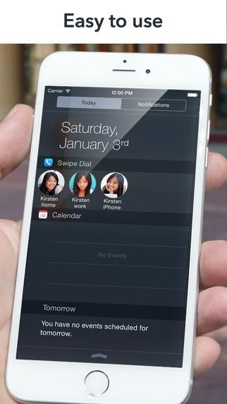 Как добавить быстрый набор в Центр уведомлений iPhone в iOS 8
