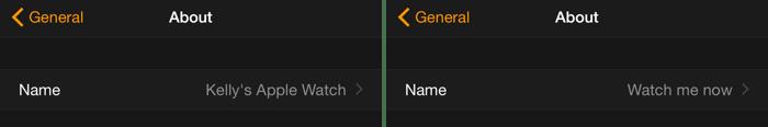 Как изменить название ваших Apple Watch