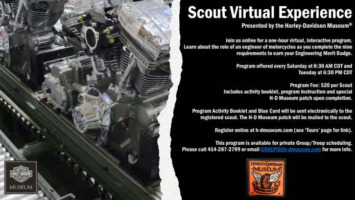 Scout Virtual Experience