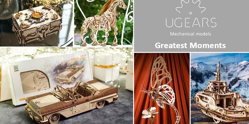 Idei creative de cadouri pentru ea: puzzle-uri mecanice UGears – partea 2