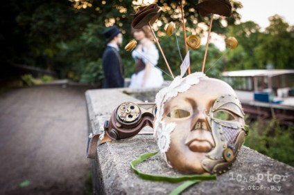 Steampunk Styled Wedding by 1Chapter Photography-51