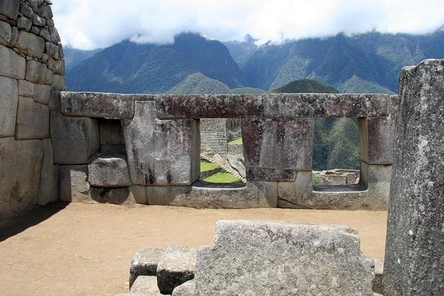 мачу пикчу храм трех окон