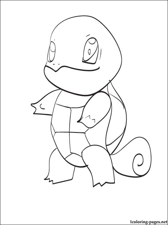 pokemon coloring pages squirtle hicoloringpages