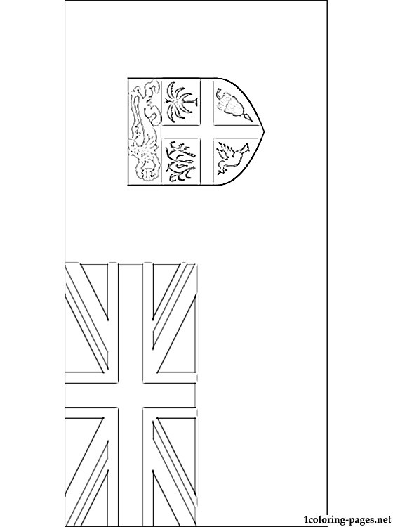 Fiji flag coloring page coloring pages, easter bunny coloring pages