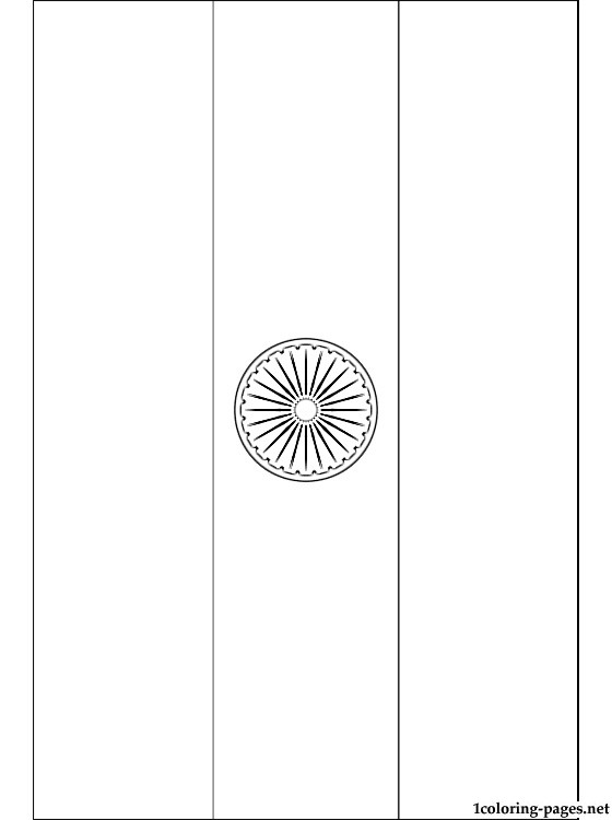 india flag coloring page coloring pages
