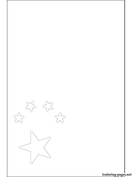 people 39 s republic of china flag coloring page coloring pages