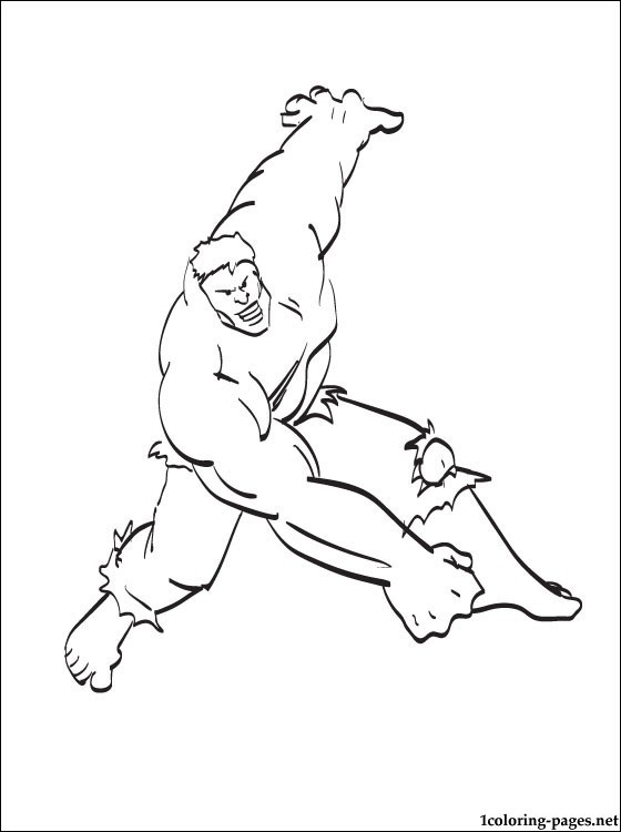 hulk coloring book for boys coloring pages