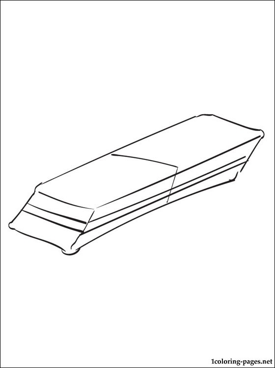 Eraser Coloring Page Coloring Pages