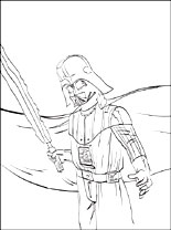 Star Wars Darth Vader Printable Page To Color Coloring Pages