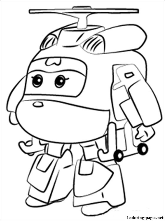Barbie And Friends Winter Coloring Pages