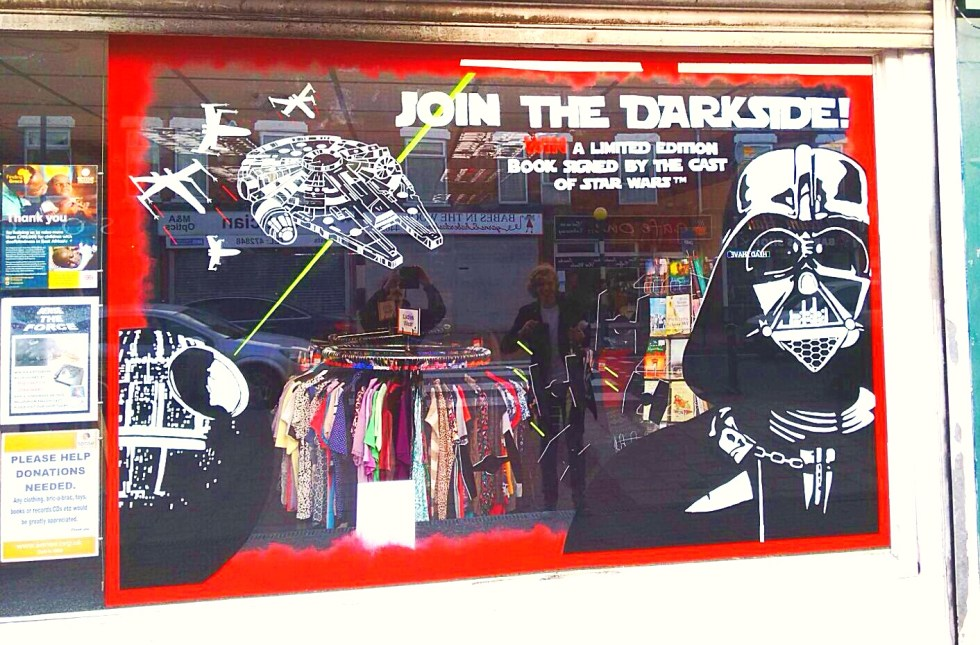 1create - Sense Charity Star Wars Mural