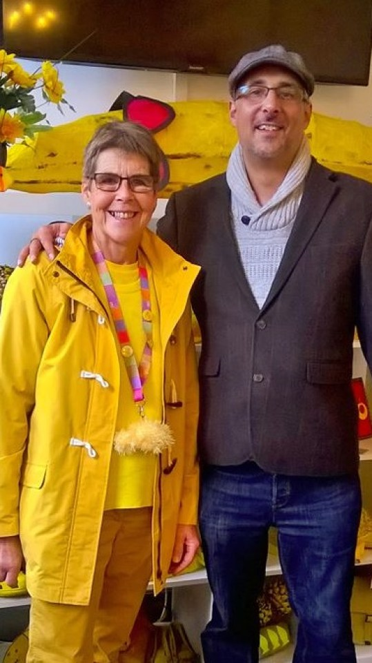 1create - Paul Frederick with Janet Bark Yellow Day Hull revisited
