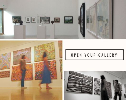 1create - open your own gallery artists and photographers