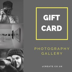 1create - Official Gift Card Photographer