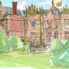 1create - 29 Front Burton Agnes Hall by Patricia Thompson