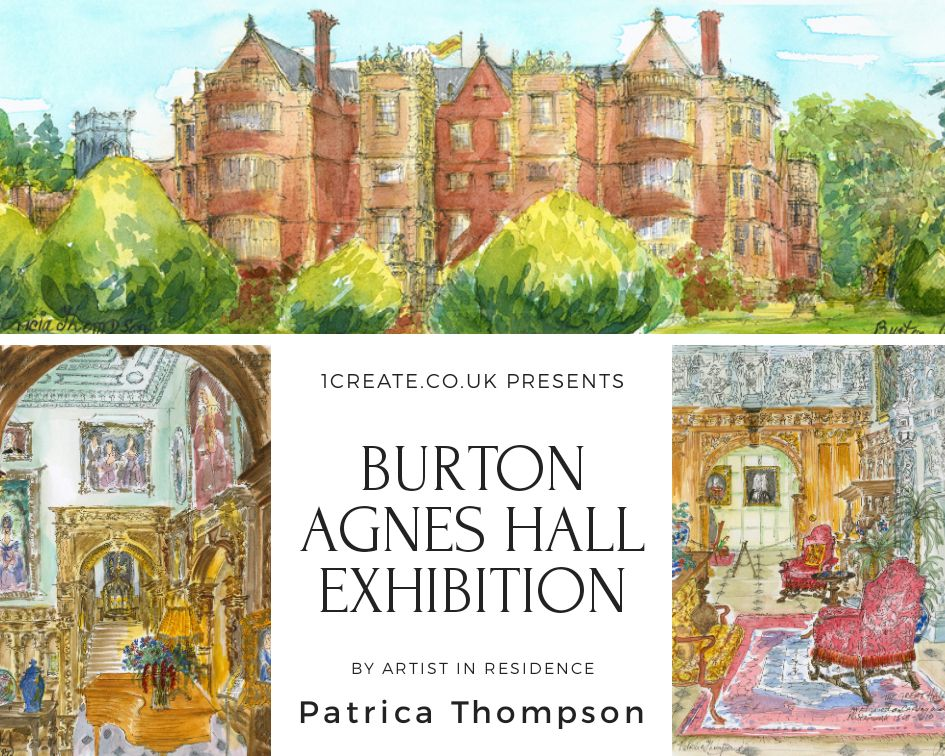 1create - Burton Agnes Hall - Patricia Thompson Exhibition
