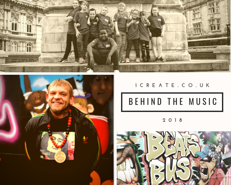 1create - Steve Arnott Beats Bus Behind the Music 2018