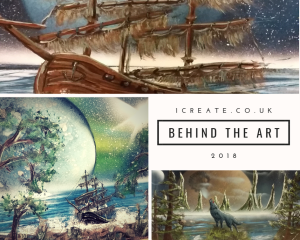 1create - behind the art 2018 with Kevin Aldcroft header