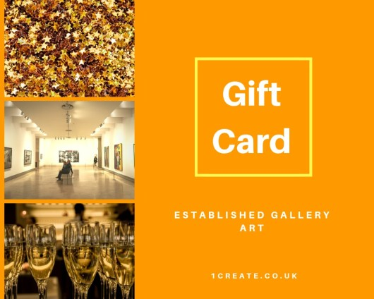 1create Gift Card - Established Art Gallery