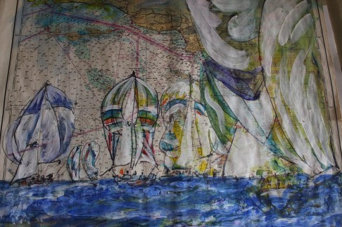 St Lucia Yachting Exhibition sketch 3