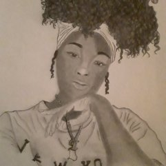 1create - Chocolate Black Queen by Kalah Howard