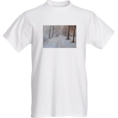 1create - t-shirt-Exmoor-snow by Mark Noble