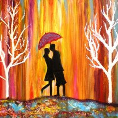 Romance in the Rain II by Manjiri Kanvinde