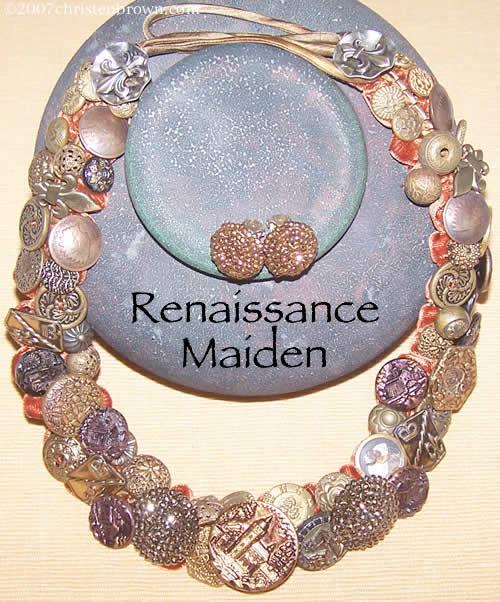 Renaissance Maiden by Christen Brown