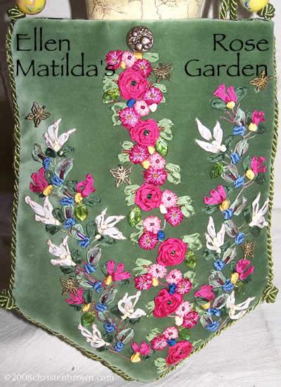 Ellen Matilda's Rose Garden Purse