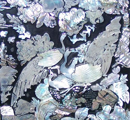 inlaid abalone lid