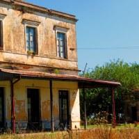 La vieja Estación de Azcuenaga... The old station Azcuenaga ...