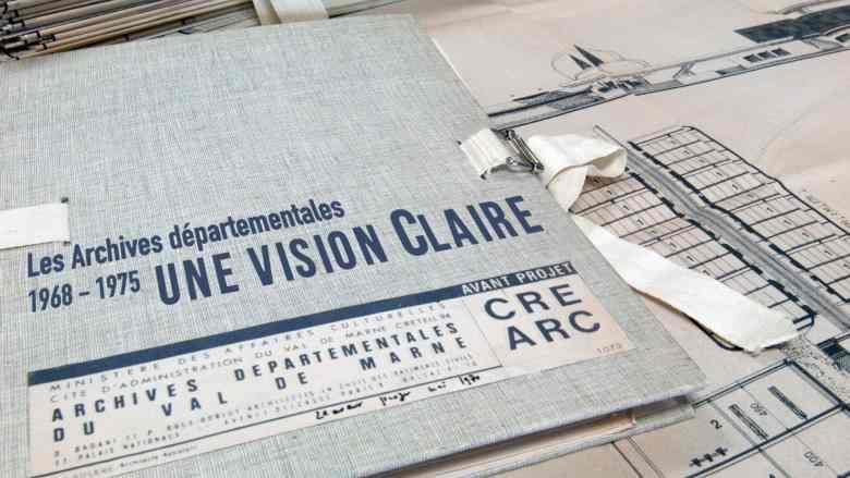 Les archives départementales du Val-de-Marne / 1968 - 1975 : une vision Claire