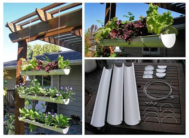 вертикальный огород - вертикальное озеленение