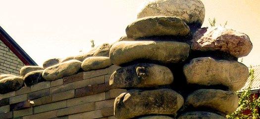 Забор из камня 2