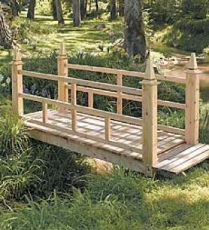 Декоративный мостик, фотографии