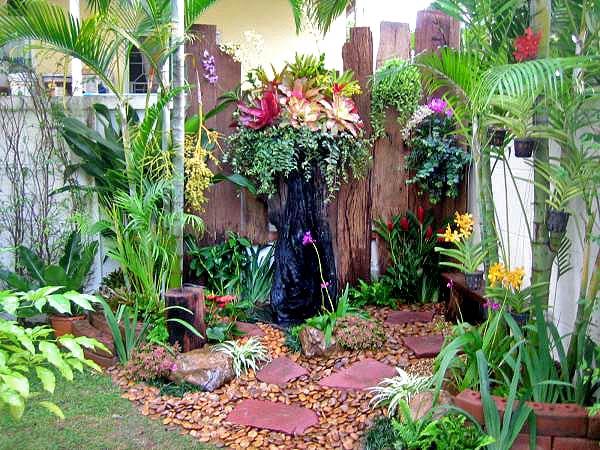 дизайн маленького двора 1