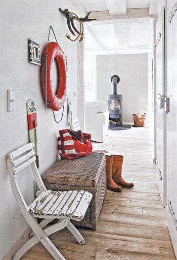 интерьер в морском стиле