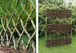 декоративный забор на даче