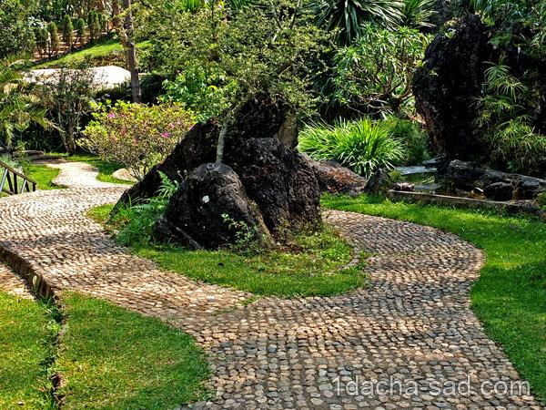 японский сад на даче фото (4)
